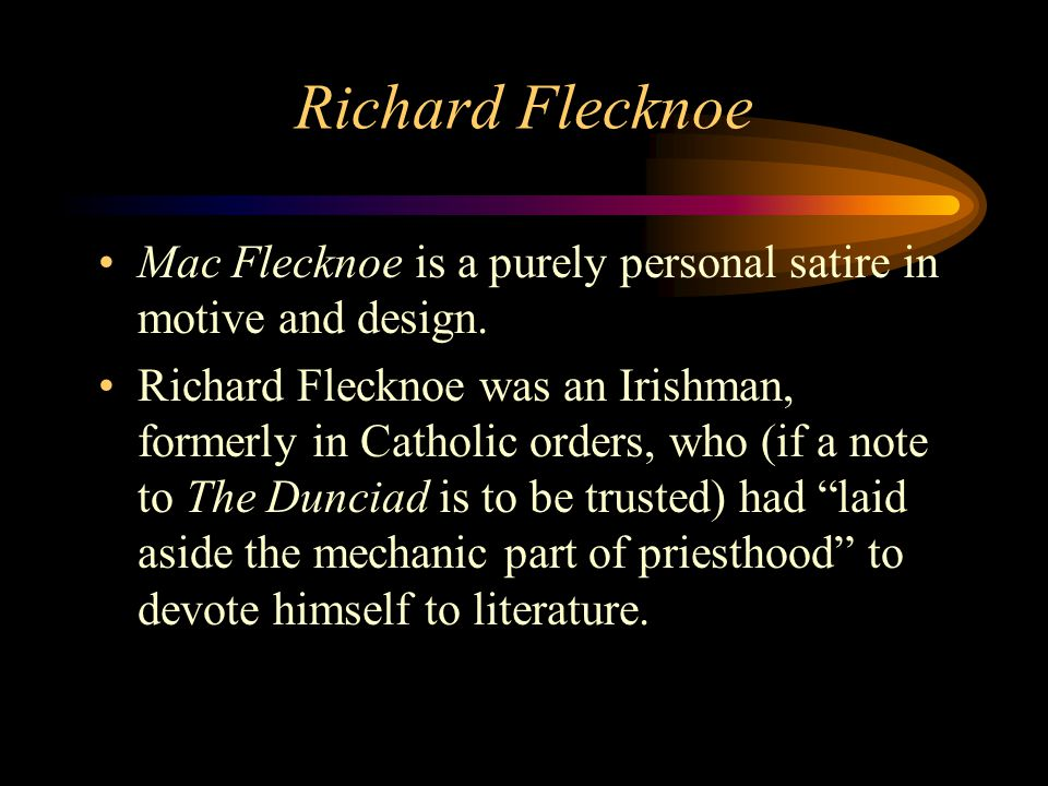 mac flecknoe poem summary pdf