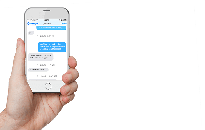 backup sms iphone to pdf