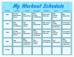 gym workout schedule for weight loss pdf