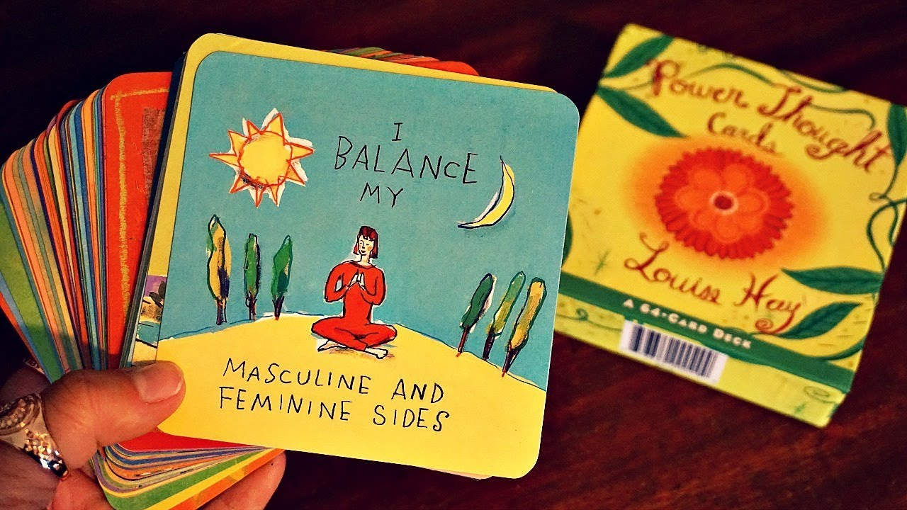 louise hay power thought cards pdf