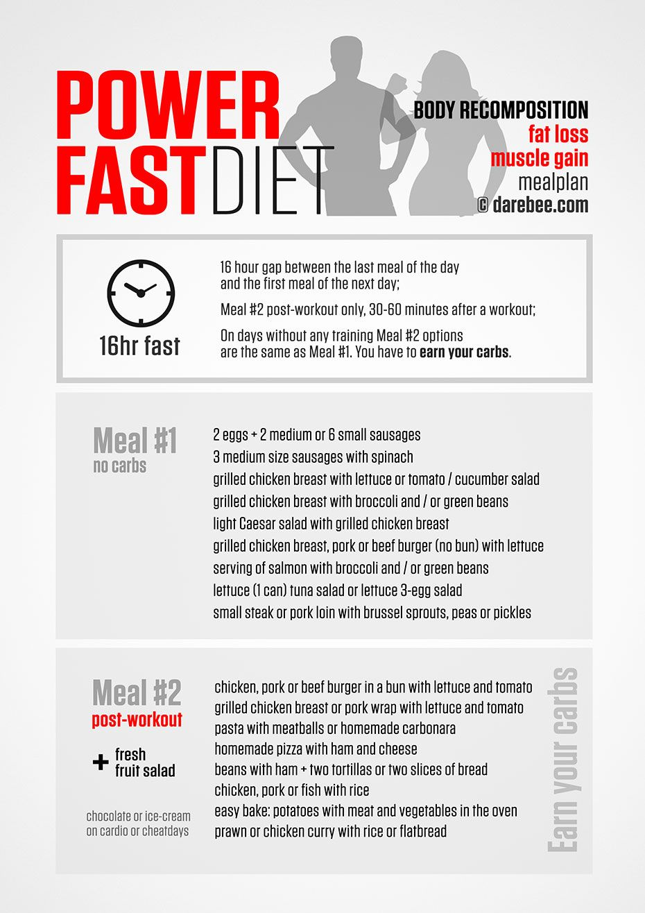 workout diet plan to build muscle pdf