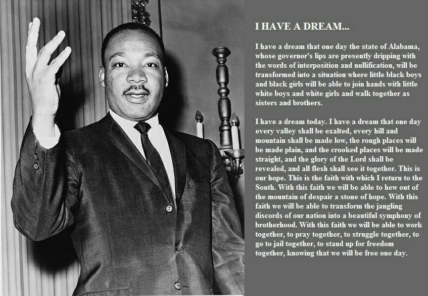 martin luther i have a dream speech pdf