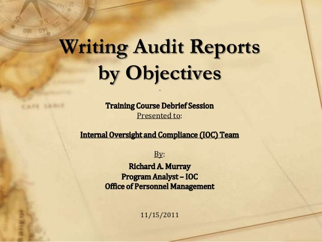 objectives of internal audit pdf