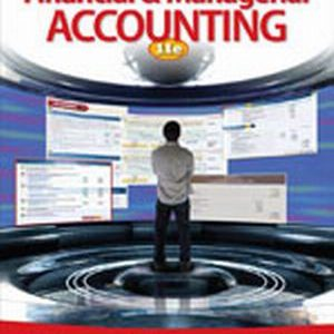 financial and managerial accounting 13th edition solution manual pdf