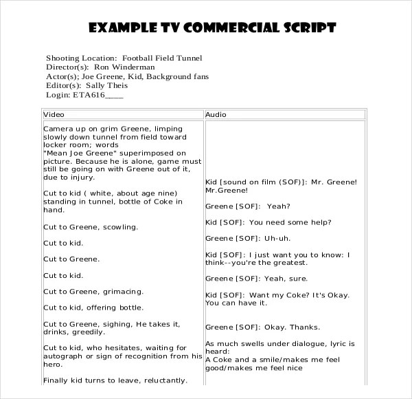 what is script writing pdf