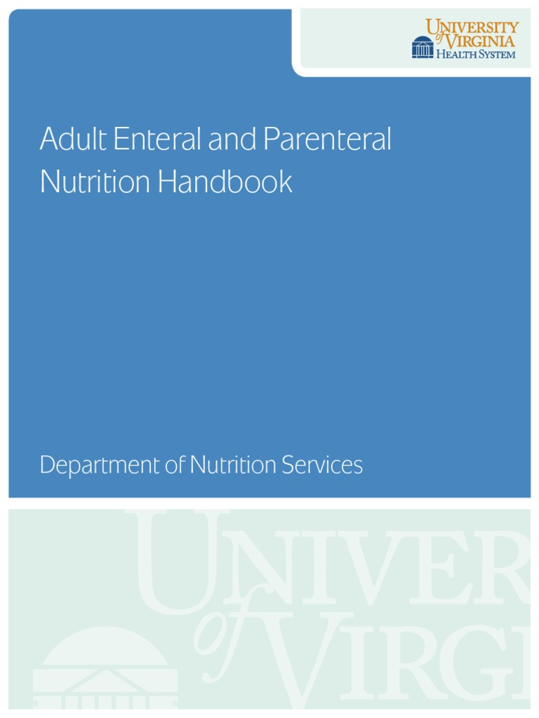 enteral and parenteral nutrition pdf