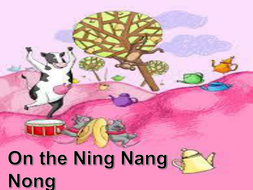 on the ning nang nong pdf