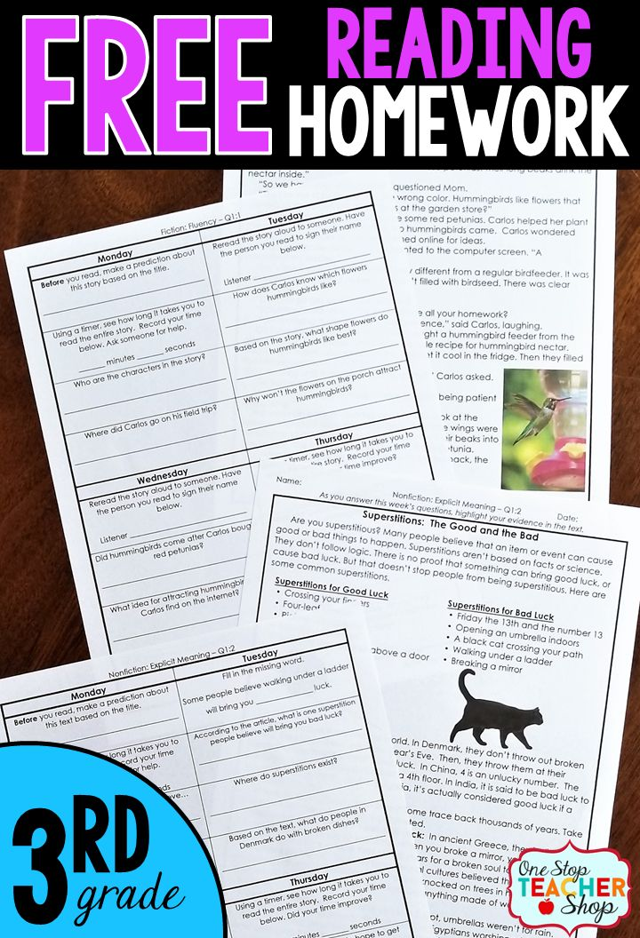 3rd grade reading passages pdf
