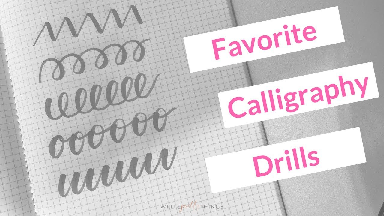 calligraphy exercises for beginners pdf