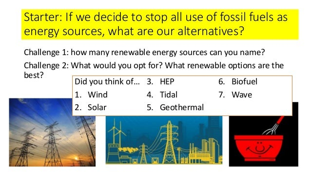 alternative energy sources for fossil fuels pdf