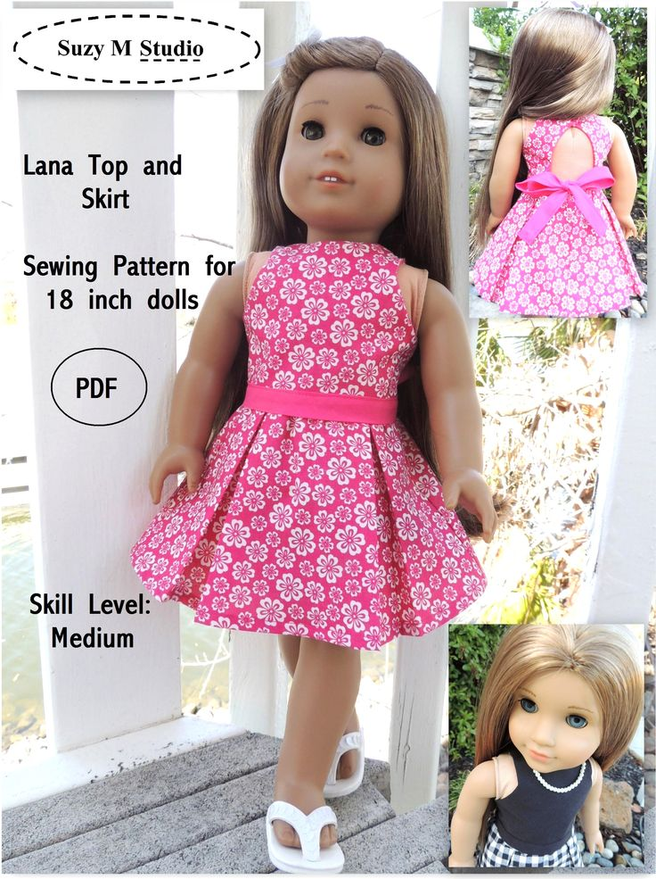 american girl sewing patterns pdf