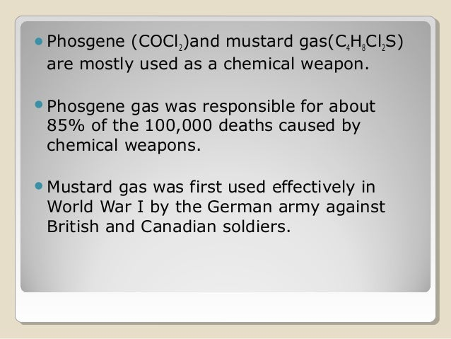 types of chemical weapons pdf