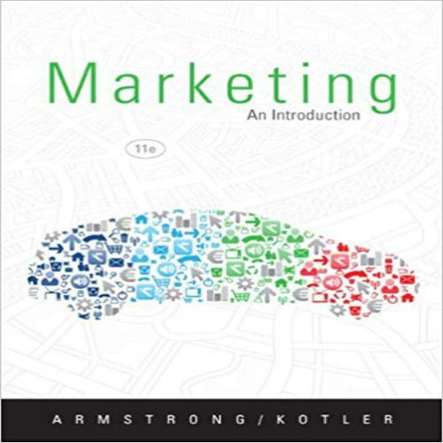 marketing an introduction 11th edition pdf