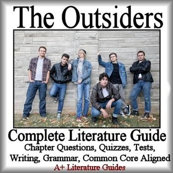 literature guide the outsiders book pdf