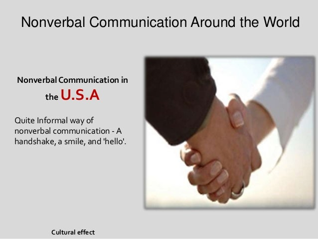 characteristics of nonverbal communication pdf