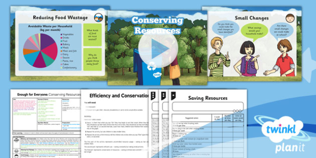 conservation of natural resources pdf