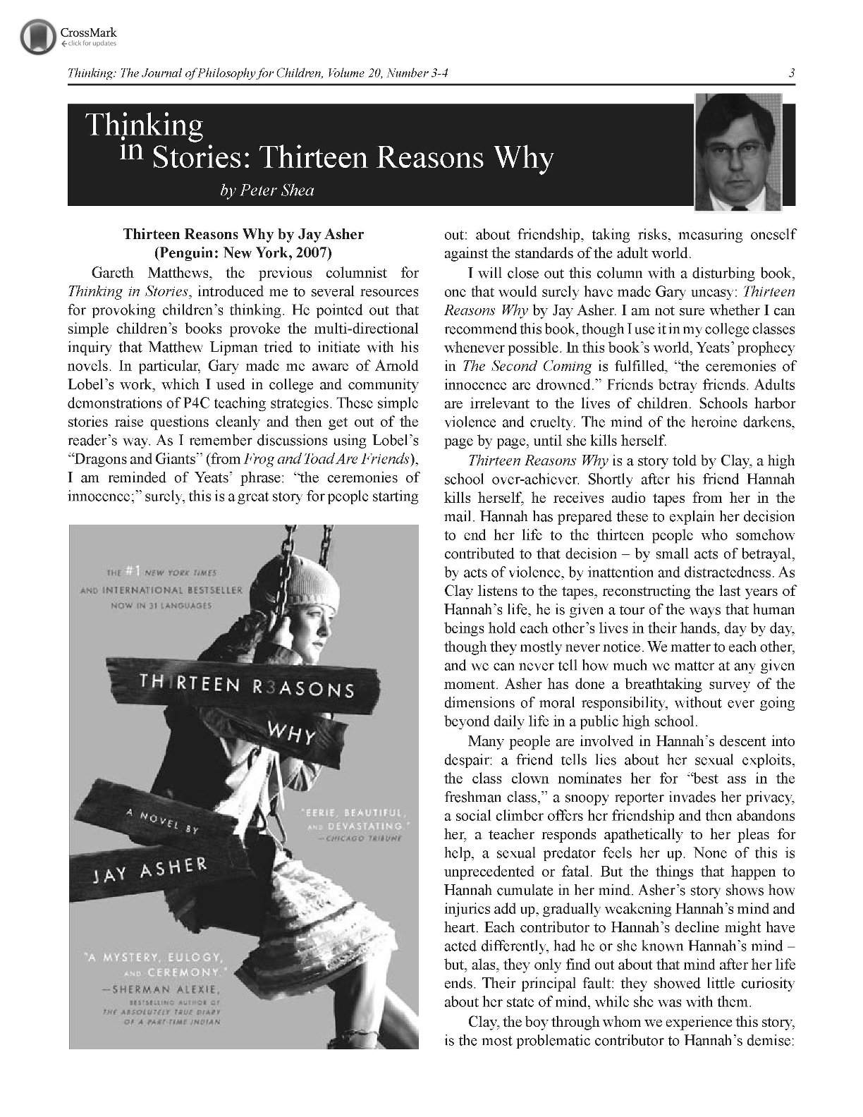thirteen reasons why pdf online