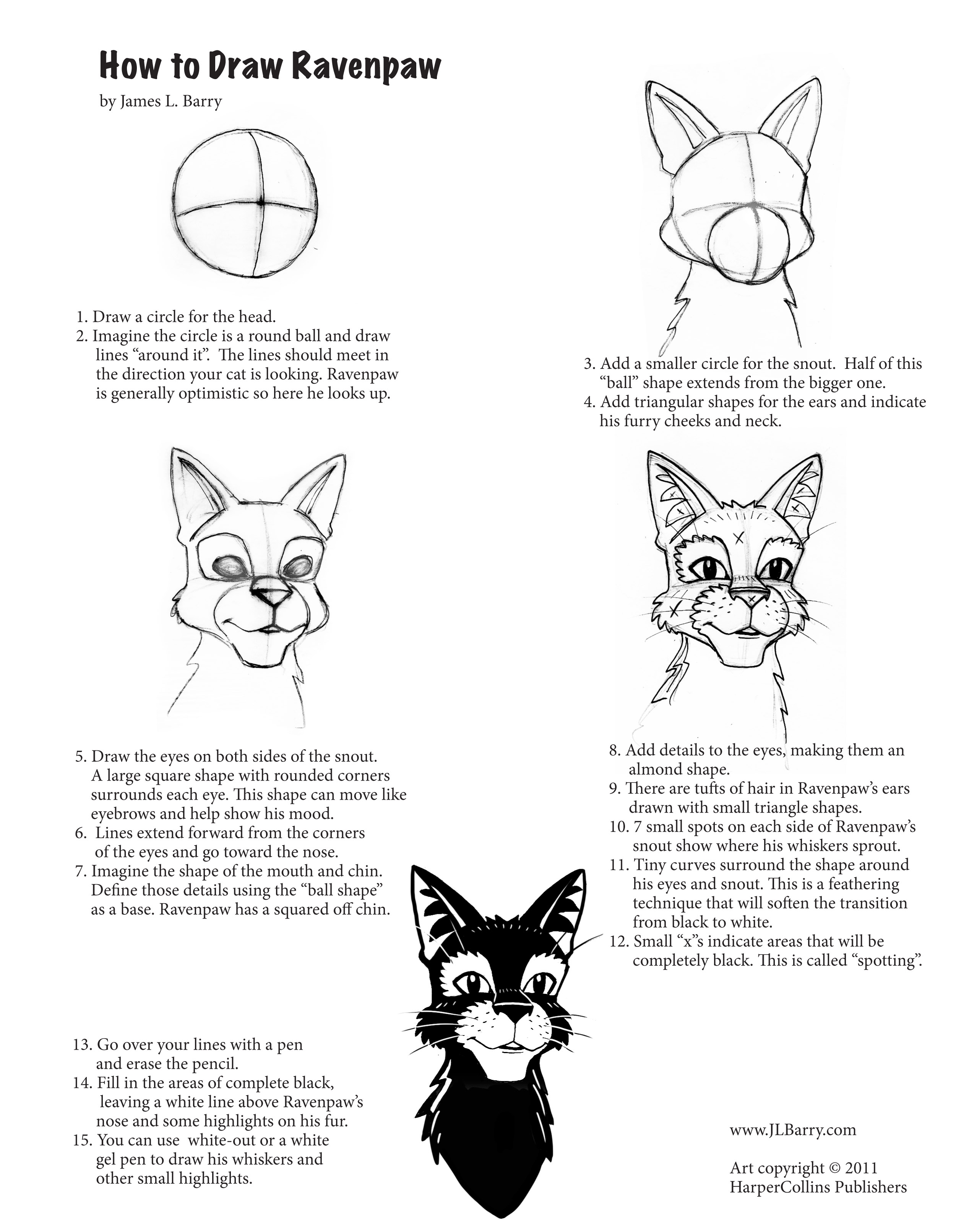 how to draw furries pdf