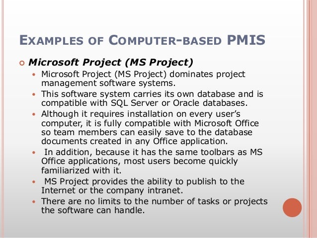 management information system project pdf