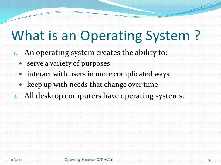 how operating system works pdf