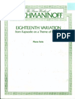 rachmaninoff variations on a theme by paganini 18 pdf
