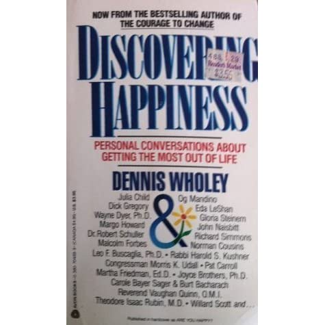 discovering happiness by dennis wholey pdf free download