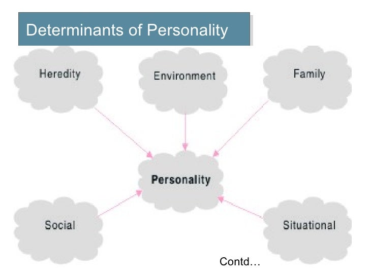 determinants of personality development pdf