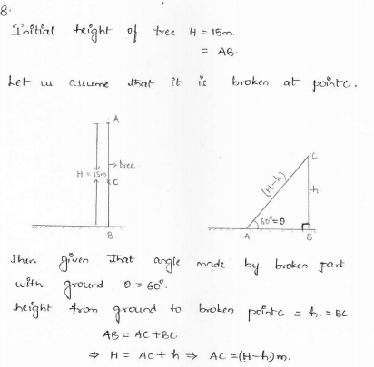 applications of trigonometry class 10 pdf