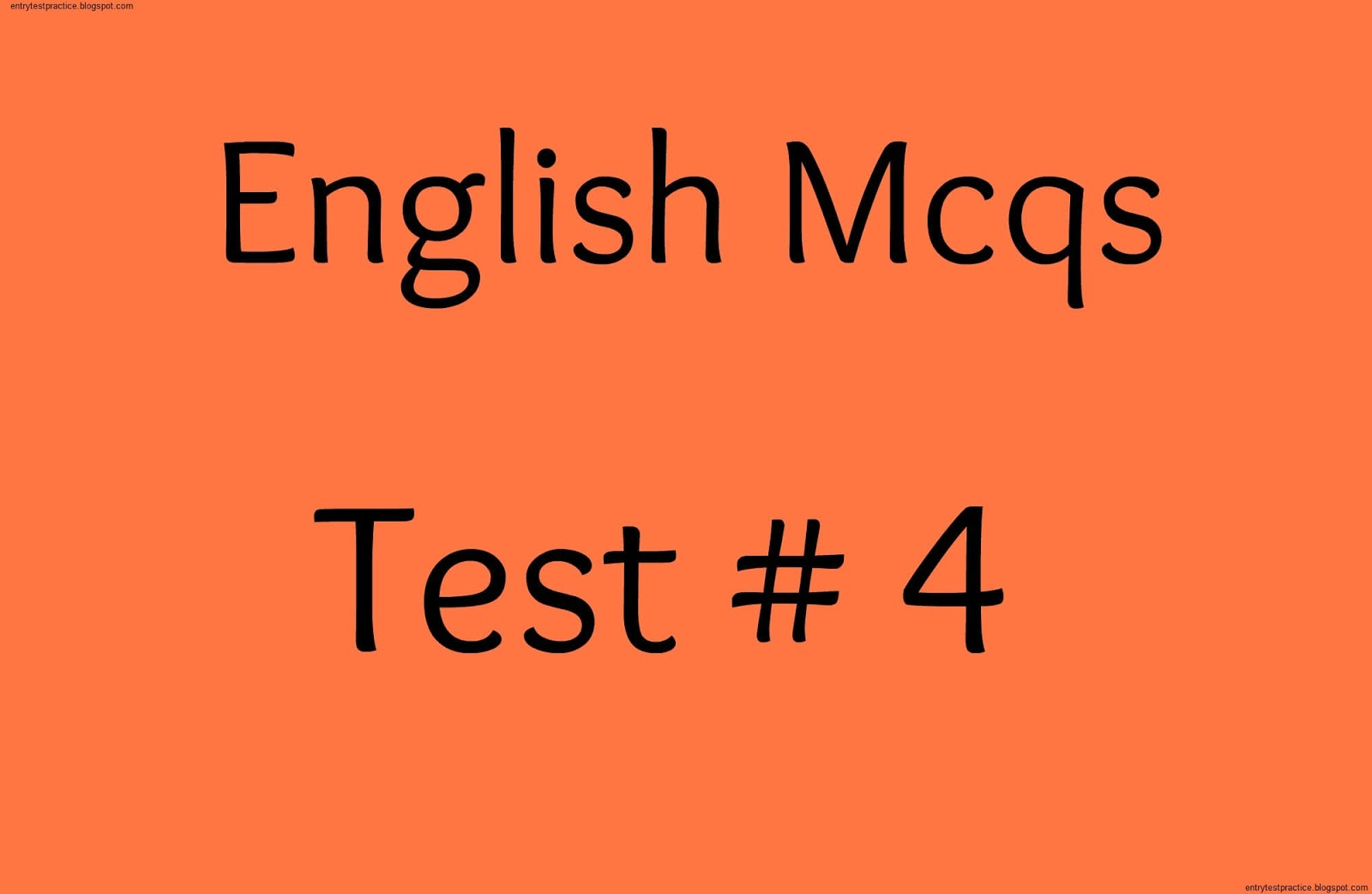 english mcqs with answers for entry test pdf