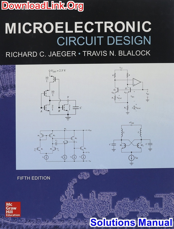 microelectronic circuits solution manual pdf