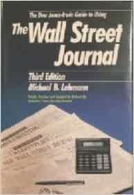 the irwin guide to using the wall street journal pdf