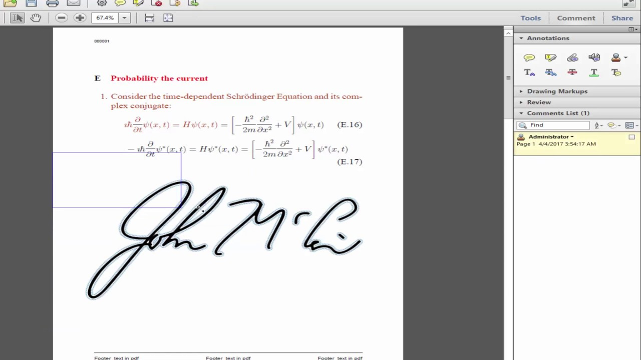 add signature to pdf adobe acrobat pro