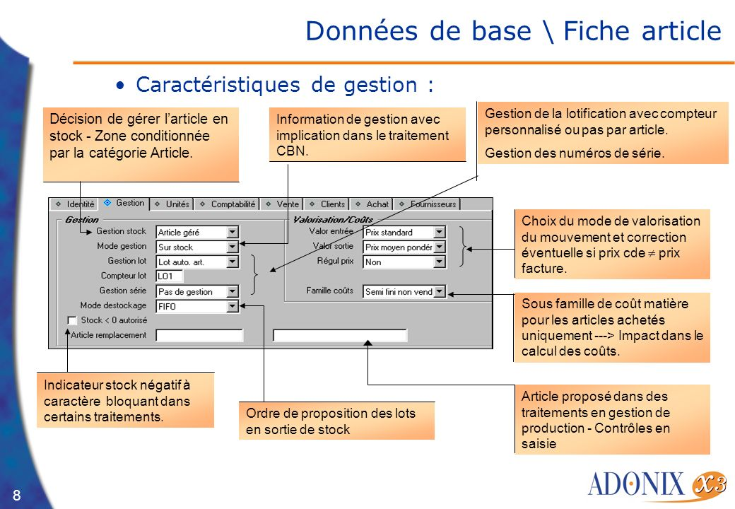 formation gestion de stock pdf