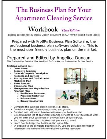 house cleaning business plan pdf