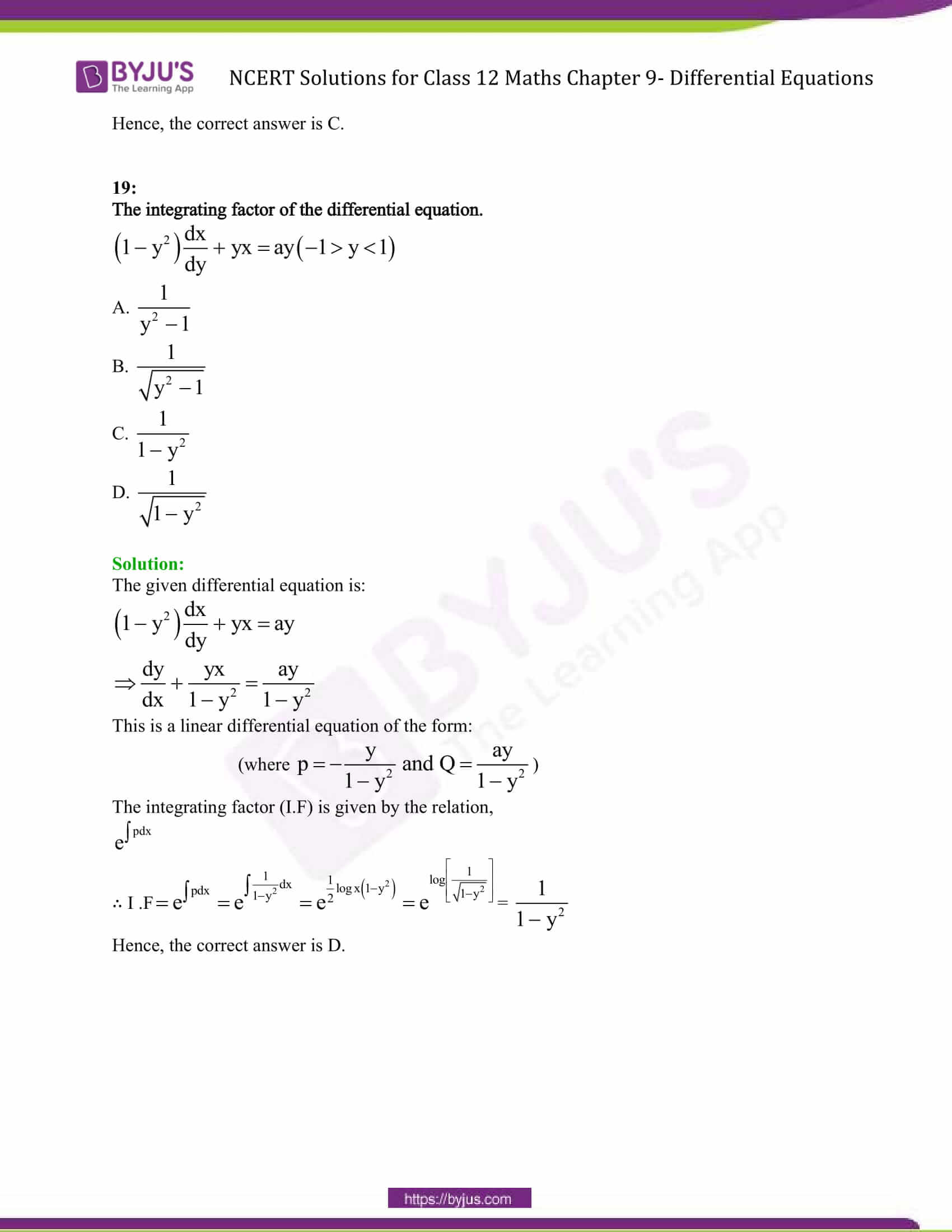 first order linear differential equation pdf