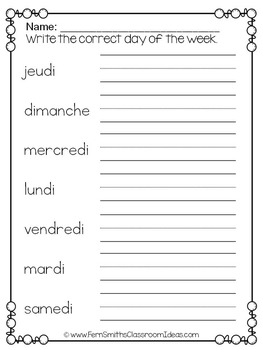 french worksheets for grade 8 pdf