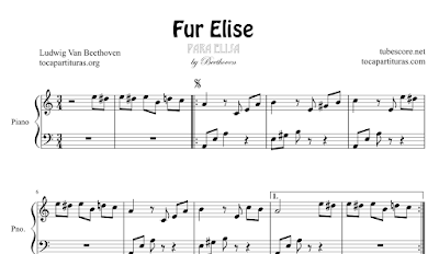 fur elise piano sheet music for beginners pdf