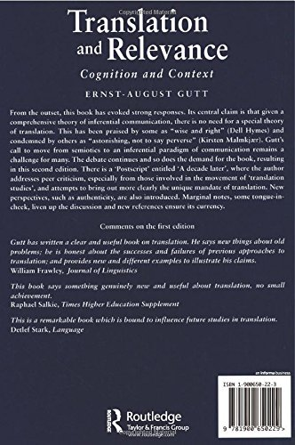 gutt translation and relevance 2nd edition pdf