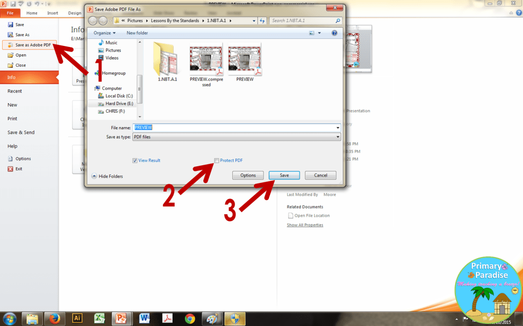 how do you password protect a adobe pdf file