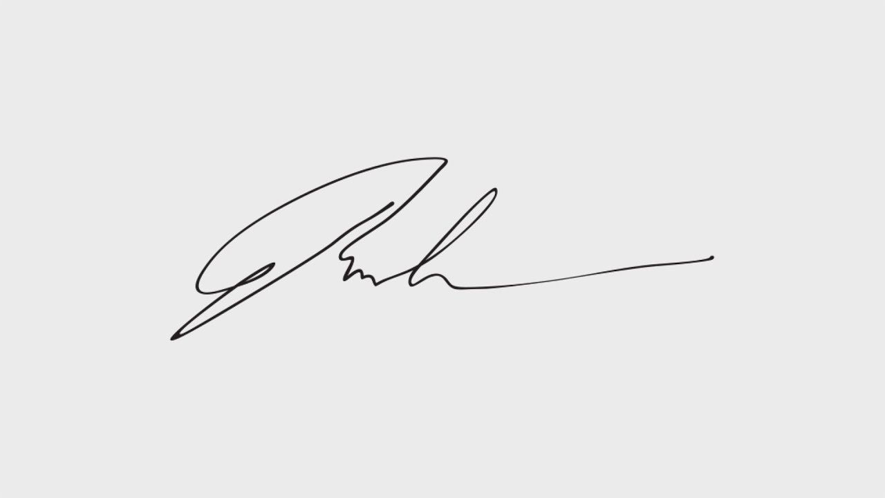 how to pdf a signature