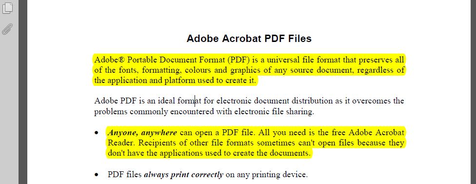 how to separate pages of a pdf file in chrome