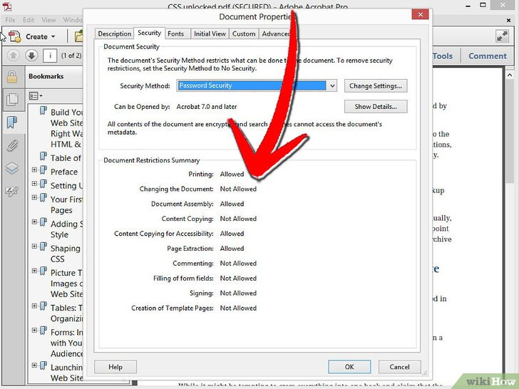 how to unsecure a pdf foxit