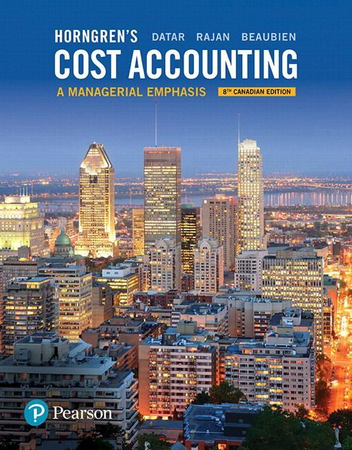 management and cost accounting horngren pdf