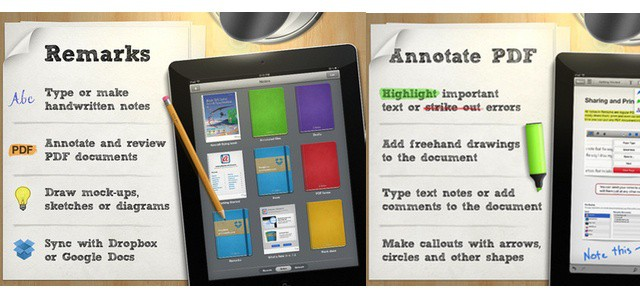 pdf note taking app ipad