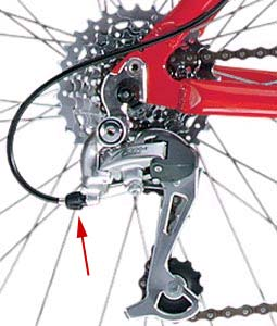 shimano rear derailleur adjustment pdf