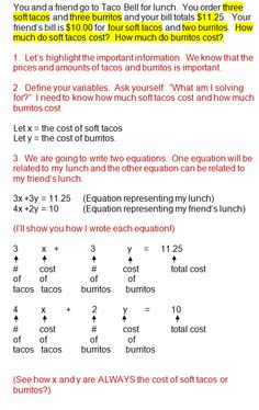 substitution word problems worksheet pdf