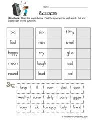 synonyms and antonyms for cat pdf