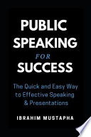 the quick and easy way to effective speaking free pdf